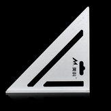 Алюминиевый сплав 7 дюймов Speed Square Layout Инструмент Стропила Треугольная линейка Деревообработка Плотники Маркировка Инструмент