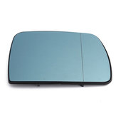 Right Side Car Door Wing Heated Mirror Glass Blue Tinted for BMW X5 E53 1999-2006