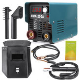 ZX7/MMA/ARC-200 4000W IGBT 220V Mini Welder ARC Welding Machine LED Display Hand Hold Inverter