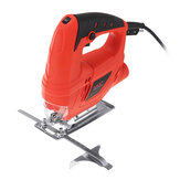 710W Jigsaw Electric Jig Wood Reciprocating Saw Cutter Woodworking Cutting With 10 Saw Blades