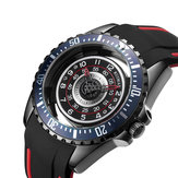 RUIMAS 549 Hollow Design Silicone Sport Men Watch