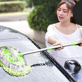 Car Wash Mop Special Brush Car Brush Soft Fur Cleaning Does Not Hurt The Car Car Wiper Tool Retractable