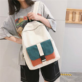 Large Capacity Backpack Students Multi-Color Fashion Bag