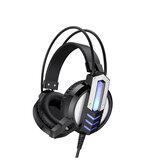 BOROFONE BO100 Over-Ear Gaming Headset Com Fio Com Cancelamento de Ruído Hifi Headsets Com Microfone para Computador PC