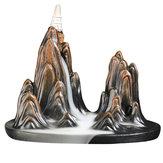 Quemador de incienso de humo de cascada inversa Quemador de incienso con 10 conos