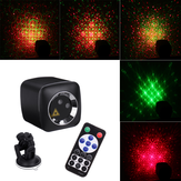 Mini 32 Patterns Remote Control R&G LED Stage Lighting Effect Portable USB Light Projector for Wedding Birthday DJ Disco Party