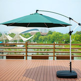 300cm Waterproof Sunshade Beach Umbrella Fabric Cloth Canopy Parasol Tent Cover