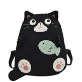 Dívky Sportovní cestovní batoh Plážový batoh Batoh batohu tvaru koček