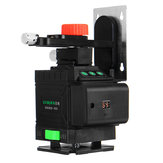 12 Lines 3D Laser Level LCD Green Self Leveling Cross Horizontal Vertical Tool