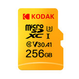 Kodak U3 V30 Class10 Kartu Micro SD SDXC SDHC SD Card Memory TF Flash Card 512GB 256GB untuk Penyimpanan Video Secure Digital Memory Card