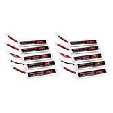 10Pcs URUAV 3.8V 300mAh 70C / 140C 1S Lipo البطارية PH2.0 Plug for Eachine TRASHCAN Snapper6 7 Mobula7