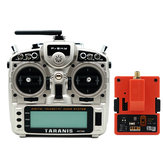 FrSky Taranis X9D Plus 2019 2.4G 24CH ACCESS ACCST D16 Mode2 FCC Version Transmitter with R9M 2019 900MHz Long Range Module