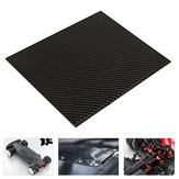 200x300x(0.5-5)mm Black Carbon Fiber Plate Panel Sheet Board Matte Twill Weave