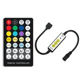 DC5-24V 6A Mini 3Keys IR LED Dimmer Controller+28Keys Remote Control for RGBCCT Strip Light