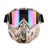 Kacamata Sepeda Motor Motocross Off-road ATV Dirt Bike Eyewear Kacamata Film Warna