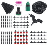 10/20/25M Auto Timer Water Drip Irrigation System Kits Self Watering for Garden Plant