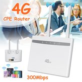 4G LTE CPE Router WiFi Wireless Repeater Hotspot Sim Card Modem Dual Antenna Car