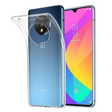 BAKEEY OnePlus 7T Crystal Clear Transparent Ultra-mince Soft Étui de protection en TPU