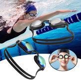 مجموعةنظاراتالسباحةيونمايعاليالوضوح سدادة مضادة للضباب وسدادات الأذن سيليكون من مجموعة نظارات شياومي يوبين