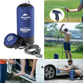 12L Portable Inflatable Outdoor Shower Bag Folding Barrel Camping Water