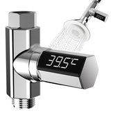 LED Digital Shower Temperature Display Water Shower Thermometer Monitor