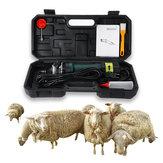 1200W 220V इलेक्ट्रिक कतरनी बाल क्लिपर 2600r / मिनट 6 गीयर भेड़ बकरी एयू प्लग की समायोज्य गति