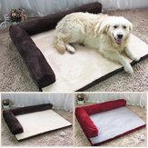 Pet Mat Soft Ciepła ortopedyczna mata z pianki dla psa ze zdejmowaną pokrywą S / M / L / XL