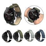 Bakeey Canvas Leather Watch حزام لـ Amazfit Stratos 2/2S ذكي Watch
