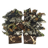Camo Ghillie Shooting Gloves Camouflage Hide Anti Slip Stalking Airsoft Tactical Gloves