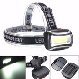 BIKIGHT TH-125 600LM Rechargeable COB Headlamp Camping Cycling Flashlight Night Warning Light