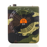 Hunting Speaker Bird Caller Predator Sound FM Radio Reproductor de MP3 Control remoto