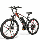 [EU Direct] SAMEBIKE MY-SM26 350W 48V 8Ah 26inch Electric Bike 30km/h Top Speed 80km Mileage Range Max Load 150kg