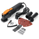 Oscillating Multi Tool 300W Universal Multifunctional Wood Laminator Trimmer Machine Woodworking With Saw Blades