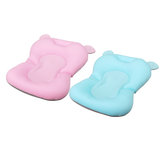 Baby Bath Pad Non-Slip Lounger Pillow Air Cushion Shower
