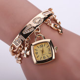 Fashion Diamond LOVE Quartz Bracelet Watch