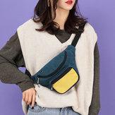 Cintura multicolor de moda para mujer Bolsa Crossbody Bolsa Cofre Bolsa