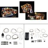 DIY LED Light String Kit For LEGO 21319 Television Series Friends Coffee Shop