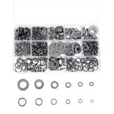 800Pcs M4-M12 Stainless Steel Self-Tapping Screw Washer Pad Handware Assortment