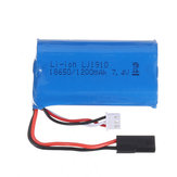 18650 7.4V 1200mAh 2S 10C Li-ion البطارية for SG 1203 1/12 Drift RC Tank Car Models Parts