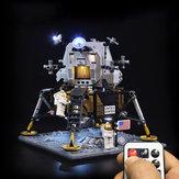 LED Light Lighting Kit For LEGO 10266 Apollo 11 Lunar Lander Building Brick