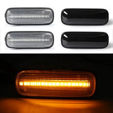 LED Side Indicator Marker Lights Turn Repeaters Lamps Amber for Honda Civic 1996-2000 CR-V 1997-2000