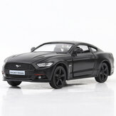 1:36 Lichtmetalen matte Ford Mustang trek-terug Retro Diecast Model Car Toy