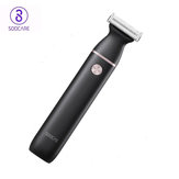 Soocas ET2 2 in 1 Electric Shaver T-Type Eyebrow Hair Trimmer 3 Blade 40° Swing Type-C Rechargeable IPX7 Waterproof  Wet & Dry Hair Removal Electric Razor