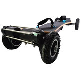 JKING H2C-01 2x1650W 36V 10AH 10S5P Brushless Motor Dual Belt Motor Off-road Skateboard 10000mAh Battery 4-wheel Electric Skateboard 200kg Payload 38km/h Top Speed