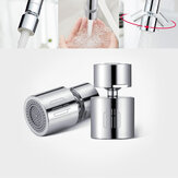 Diiib Kitchen Faucet Aerator Water Tap Nozzle Bubbler Water Saving Filter 360-Degree Double Function 2-Flow Splash-proof Tap Connector With 5 Adapter from Xiaomi Youpin