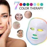 7 barevných světel LED maska na fototerminální obličejovou masku pro léčbu akné proti stárnutí