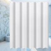 Tahan air Tirai Mandi Putih Kamar Mandi Menggantungkan Hotel Dekorasi Rumah Mode