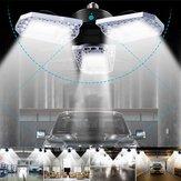 E26 AC100-270V 100W 12000LM Sensore di movimento LED Soffitto deformabile lampada della lampadina del garage
