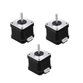 3Pcs HANPOSE 17HS4401-S 40mm Nema 17 Stepper Motor 42 Motor 42BYGH 1.7A 40N.cm 4-lead Motor for 3D printer CNC Laser