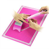 Nail Art Silicone Practice Cushion Mat Pillow Hand Holder